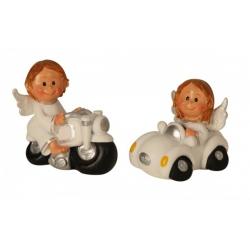 Dekorácia-anjel ochranca na cestách