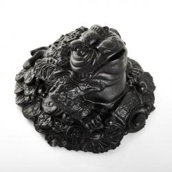 Šungit -Žaba pre Peniaze v dome