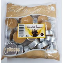 Čajové sviečky-Banán s čokoládou