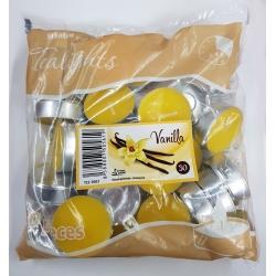 Čajové sviečky-Vanilka