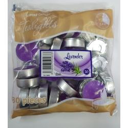 Čajové sviečky-Levandula