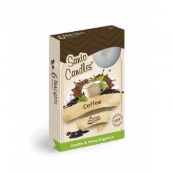 Čajová sviečka 6ks Coffee