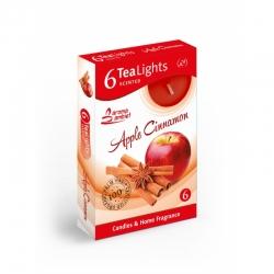 Čajová sviečka 6ks Apple cinnamon