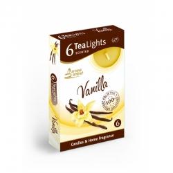 Čajová sviečka 6ks Vanilla