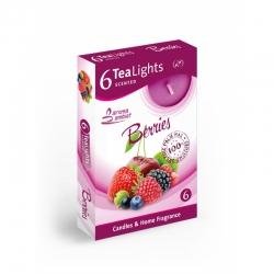 Čajová sviečka 6ks Berries