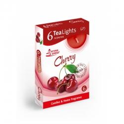 Čajová sviečka 6ks Cherry