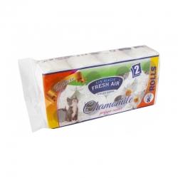 Toaletný papier - 2 vrstvový - 8ks - kamilka