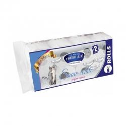Toaletný papier - 2 vrstvový - 8ks - snow white