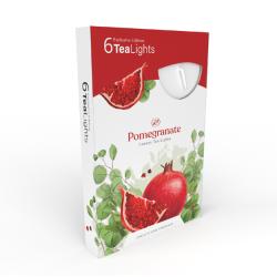 Čajová sviečka 6ks Pomegranate